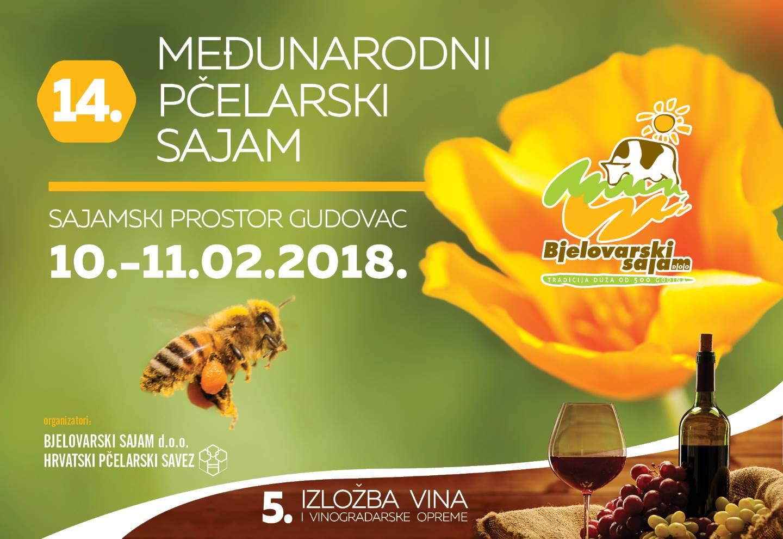Izlaganje na 14. međunarodnom pčelarskom sajmu u Gudovcu